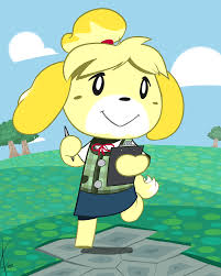 Halloween Animal Crossing by Female February Isabelle From