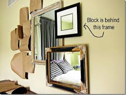How To Hang A Wall Mirror How To Create A 3 D Mirror Gallery Wall In My Own Style