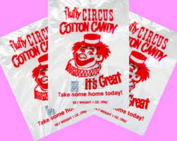 cotton candy bags wholesale 25 top quality 12x18 inch cotton candy bags with ties