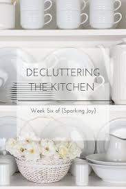 570 best konmari method images on pinterest declutter decluttering and organizing the kitchen week six of sparking joy