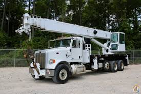 used altec ac38 127 o d ws on 2010 peterbilt 385 chassis crane for