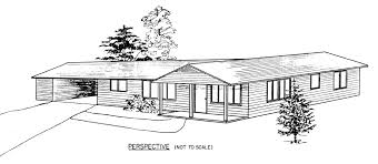 homey idea 3 ranch house plans with carports small home array