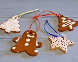 cookie ornaments clay ornament tree ornament clay