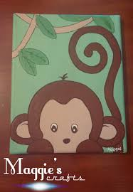 Monkey Rug For Nursery Monkey Canvas Pictures Monkey Canvas Art For Children Set Of