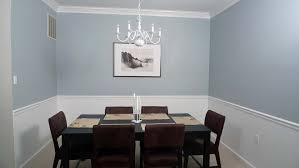 dining room paint colors with chair rail home design ideas