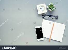desk above table top view office stock photo 511479715 shutterstock