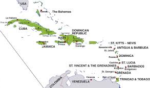 A Map Of The Caribbean by Map Of The Caribbean Islands And Capitals You Can See A Map Of