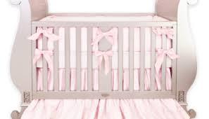white u0026 pink crib bedding set little crown interiors