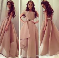 champagne ball gown evening dress prom dresses 2017 puffy long