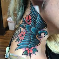 sparrow tattoo on shoulder meaning 65 cute sparrow tattoo designs meanings spread your wings 2018