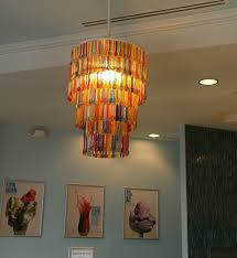 Making Chandeliers Lamp Shade Itself Making U2013 Craft Ideas From Everyday Objects