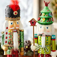 Pier One Christmas Ornaments - hand painted details on christmas nutcrackers get inspired at pier