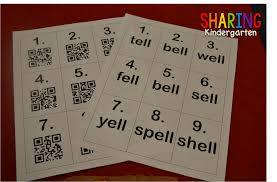 little learners love qr codes sharing kindergarten