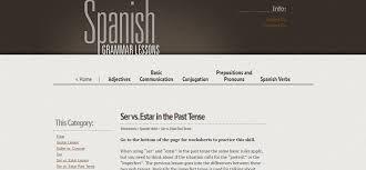spanish tenses spanish castilian spain memrise