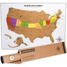 map usa buy map world scratch major tourist attractions maps
