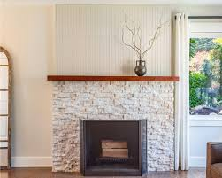 brilliant decoration stacked stone fireplace ideas terrific