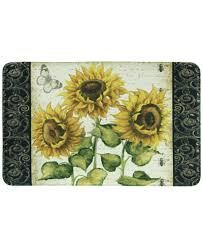 bacova accent rugs bacova french sunflower accent rug collection bath rugs bath
