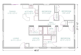 Open House Plans With Photos 3bedroom 2 Bath Open Floor Plan Under 1500 Square Feet Really