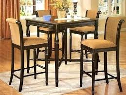 high top patio table and chairs high table and chairs patio furniture high table round high top
