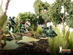 Miniature by Miniature Stories Singapore Soldier Collectible Figurines Hand