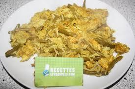 cuisine haricot vert méli mélo d escalope poulet haricot vert et riz au wok