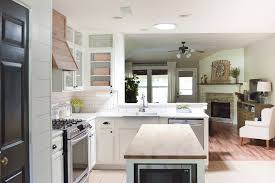 Quality Kitchen Makeovers - farmhouse style kitchen makeover reveal little red brick house