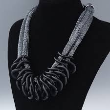 long chunky chain necklace images Statement necklace fashion women 2017 collar vintage big chunky jpg