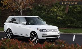 luxury land rover lexani wheels the leader in custom luxury wheels 2013 white