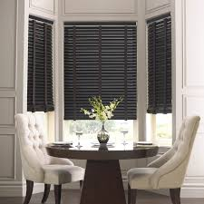 wooden blinds are sturdy light weight ideal for large windows