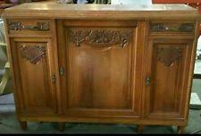 Marble Top Sideboards And Buffets Antique Sideboards U0026 Buffets 1900 1950 Ebay
