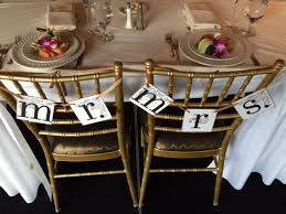 Bride And Groom Chair Pretty Bride And Groom Chair Signs Inncredible Caterers U0026 Events
