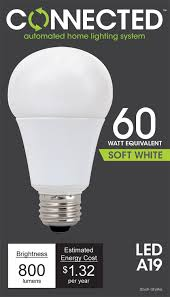 A19 Led Light Bulb by Tcp Led Connected A19 60 W Equivalent 11w Soft White 2700k