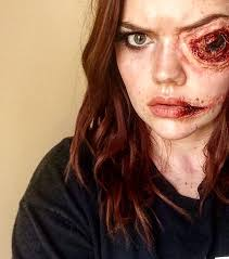 makeup effects school makeup 2015 justyn mccaskie make up