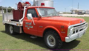 1969 chevrolet c20 fire truck item h1790 sold october 7