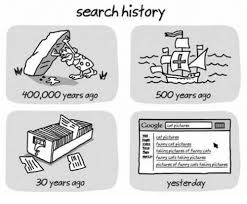 Search History Meme - search history oo 400000 years ago 500 years ago google cat pictures
