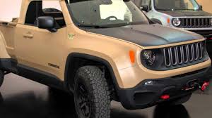 new jeep comanche new jeep renegade concept 2017 youtube
