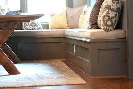 breakfast nook bench with storage astonishing nook kitchen table