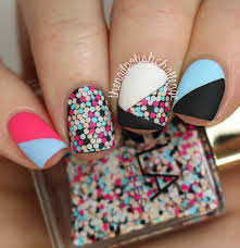 ncla this party never ends swatch nail art the nail polish