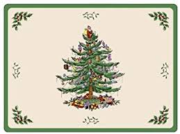 spode tree placemats box of 6 co uk kitchen