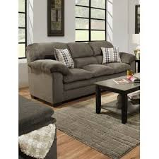 simmons upholstery ashendon sofa simmons charcoal sofa wayfair