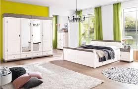 landhaus schlafzimmer weiãÿ massivholz schlafzimmer oslo mit landhaus atmosphäre