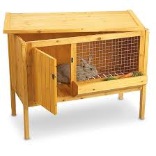 Pet Hutch Double Tier Rabbit Small Animal Hutch 168116 Kennels U0026 Beds