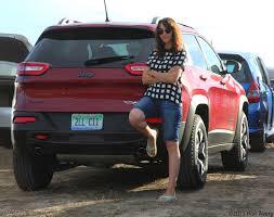 jeep car 2015 girlsdrivefasttoo 2015 jeep cherokee trailhawk monterey car week
