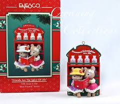 enesco mice friends are the spice of treasury of