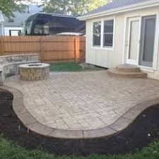 Patio Concrete Designs Garden Design Garden Design With Outdoor Living Blurivard Small