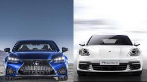 lexus isf vs audi r8 2016 lexus gs f vs 2018 porsche panamera http youtube com