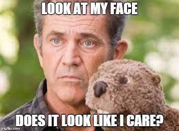 Like I Care Meme - image tagged in does it look like i care imgflip