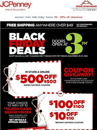 jc penney 500 500 coupon giveaway in store at 3pm