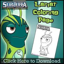 free lariat coloring slugterra skgaleana