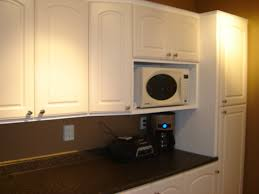 microwave kitchen cabinet how to hide a microwave building it into